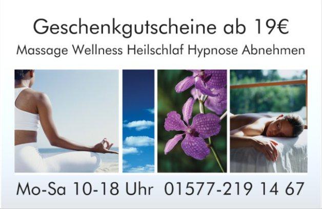 massage wellness geschenkgutscheine